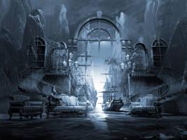 Dreamscape Reality. Ghost Ship Series by artsgr1e