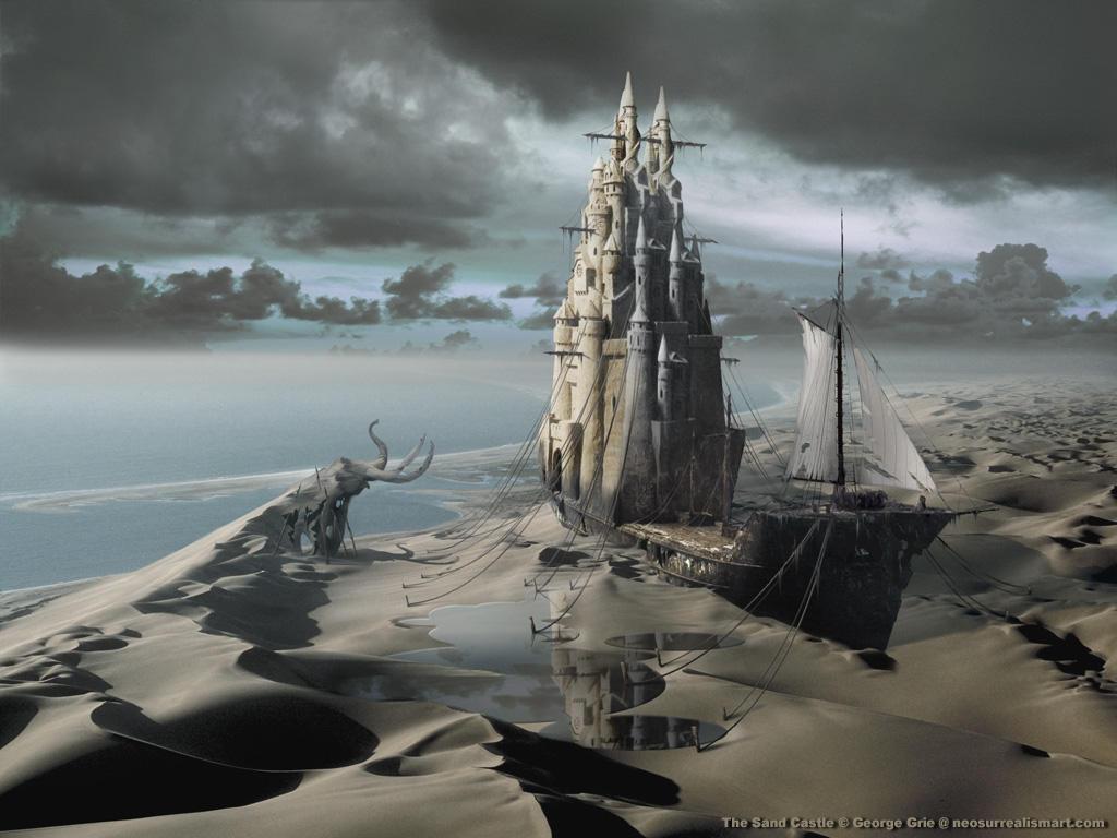 The Sand Castle by artsgr1e