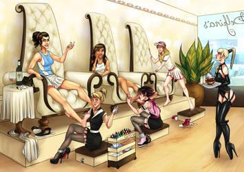Delphina's saloon by AnirBrokenear