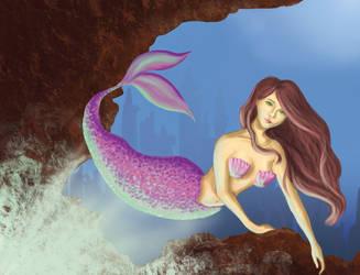 Mermaid by SunnyPriestess