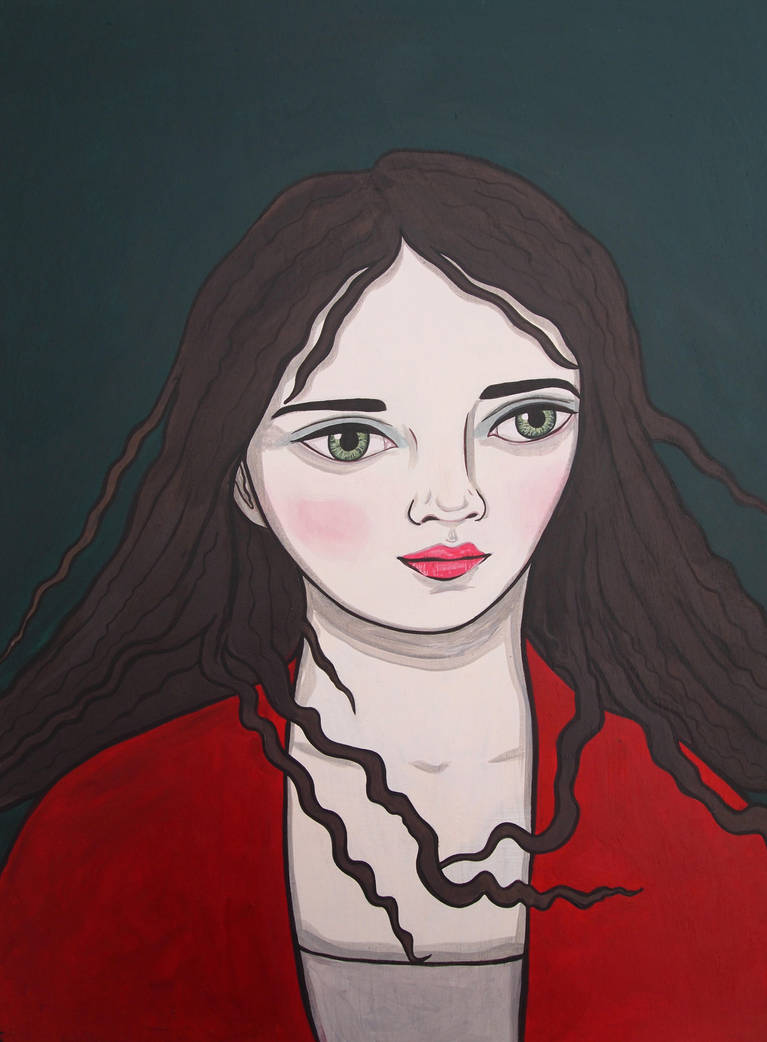 Girl in Red by KittyCooper
