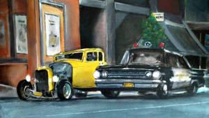 Hot Rod Graffiti by Tony-Lewis-artwork