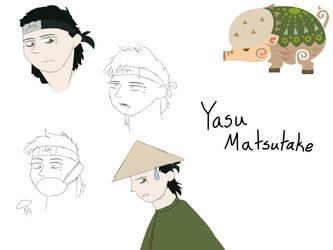 Matsutake Clan OC Doodles by ThePhantomofWolves