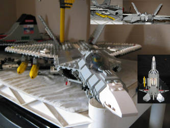 F-22 Raptor by AerospacerJ