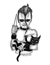 Doyle y su gato by Elfavzla