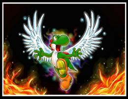 Dragon Yoshi 2 by Claudia-Sierra