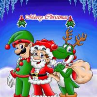 Merry Christmas by Claudia-Sierra