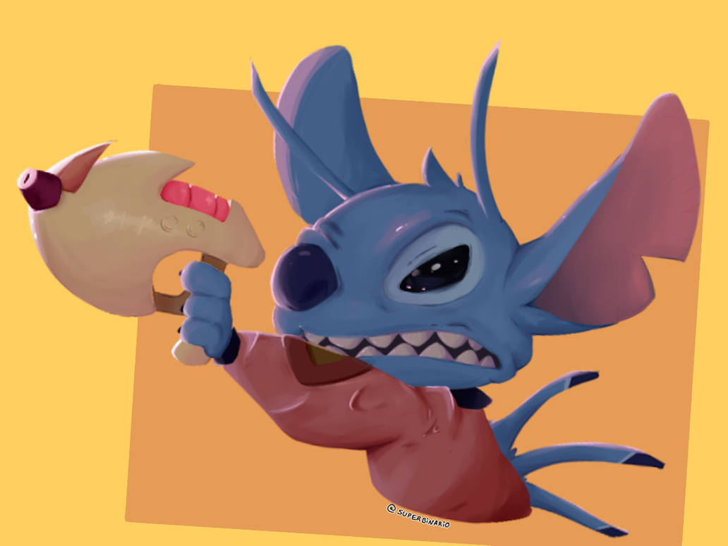 Angry Stitch by BINARIOX