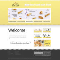 LaPerle Patisserie Web Design by magneticlab