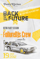 Back To The Future Party Flayer by magneticlab