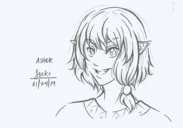 Asher by Aer0Hail by graceyanneiseki