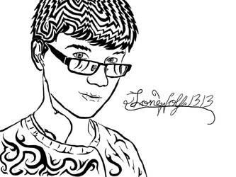 Tribal Portrait by LoneWolf1313