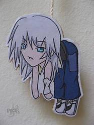 My Riku Keychain by bltzAori