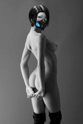 FOUR EYES nude by BatmanInc