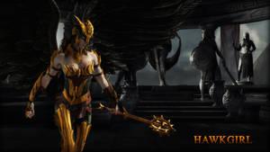 Hawkgirl (Regime) Wallpaper by BatmanInc