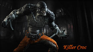 Killer Croc Wallpaper 02 by BatmanInc