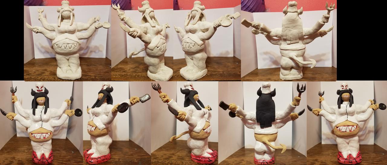Clay Sculpture Vinny by ZeroConfidence