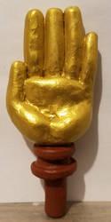 Hand of Midas sculpture by ZeroConfidence