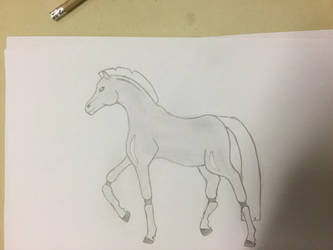 Robot horse by CreepypastaJTK