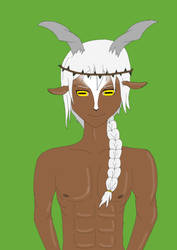 Kiba is a faun? Half human, half goat. by CreepypastaJTK