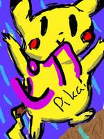 pikachu by okamidenchibi4747