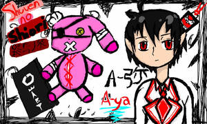 A-ya by okamidenchibi4747