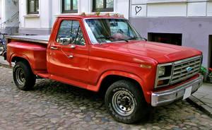 Ford Pickup red by cmdpirxII