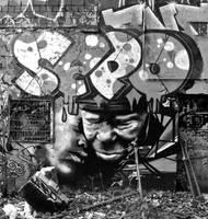 Graffiti bw 11 by cmdpirxII