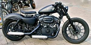 Custom Harley-Davidson -2 by cmdpirxII