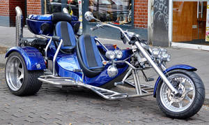 Trike blue by cmdpirxII