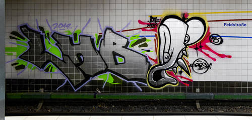Graffiti 4797 by cmdpirxII