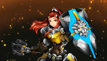 Brigitte - I am your shield! by franarok
