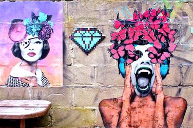 Alley Gallery 1 by JJPoatree