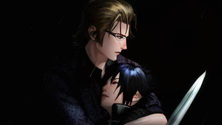 I WILL protect him! by Kirakanjo