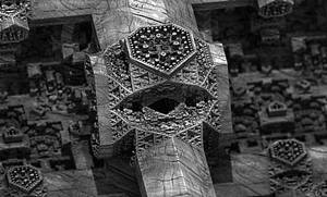 Carved  Greyscale - 29th Teaser No. 1 by LukasFractalizator