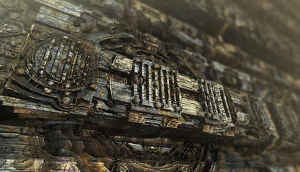 Technical Wood by LukasFractalizator