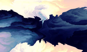 Sky Is Waking Up by LukasFractalizator