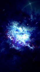 Galactus Interloping by LukasFractalizator