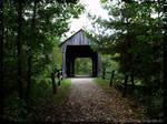 Slate Run covered Bridge by howardtj43147