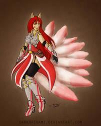 Summoners War: Kitsune Skin by DarkOrigami