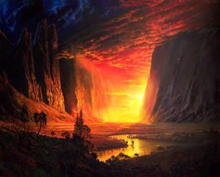 Yosemity valley by Onnep-ink