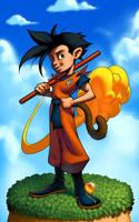 Goku colors by danimation2001