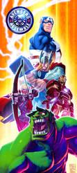 Avengers Assemble by danimation2001