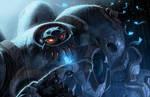 BattleChasers Nightwar 11by17 NO LOGO by danimation2001