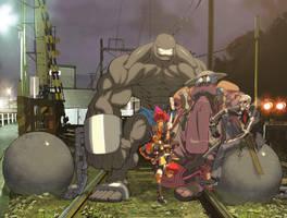 Artzilla crew Cover Colors by danimation2001