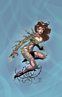 Witchblade by Randy G colors by Danimation2001 by danimation2001