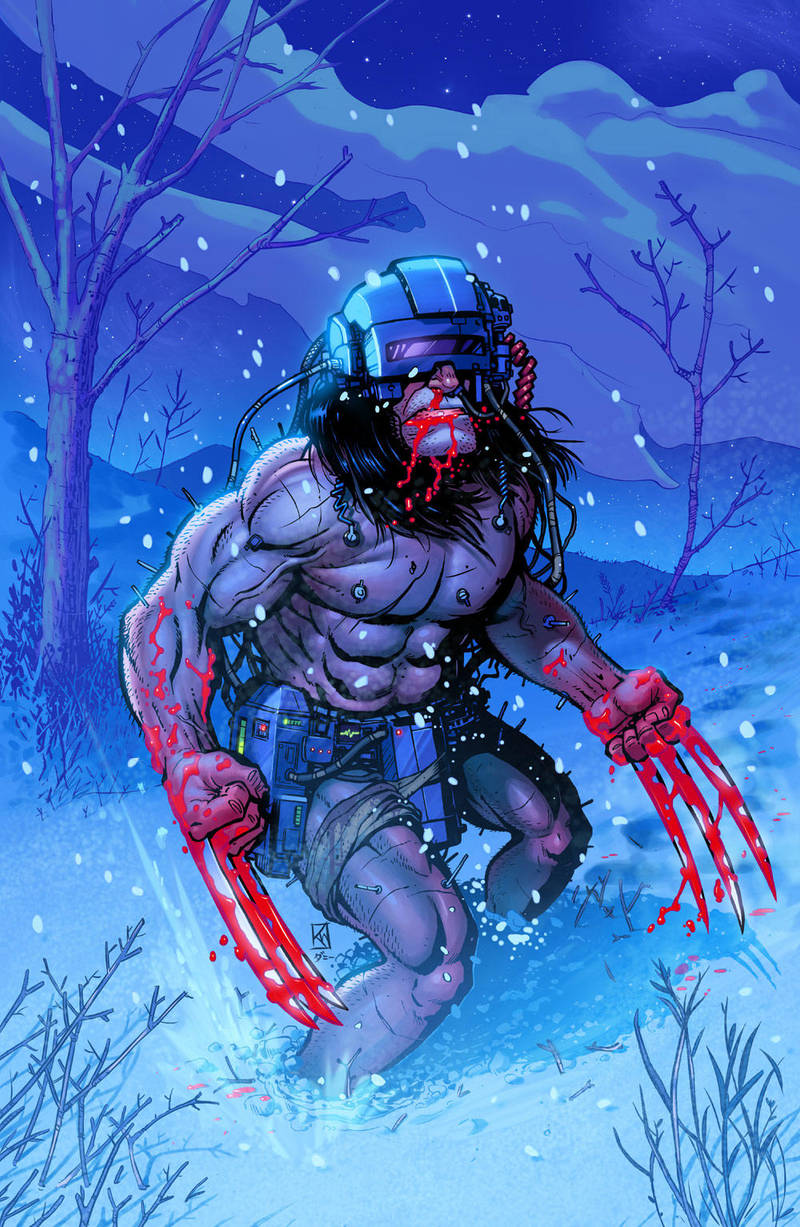 Weaponx By Kr-whalen Colors By Danimation2001 by danimation2001
