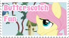 Butterscotch Fan Stamp by NavelColt