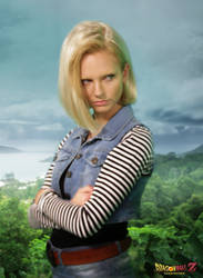 Android 18 in Real Life (Dragon Ball Z) by raulmejia
