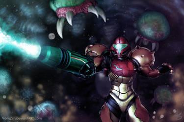 Samus Aran 2.0 by VariaZim